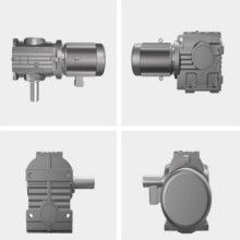 Tốc độ Worm Right Angle Inline Helical Gear Reducers