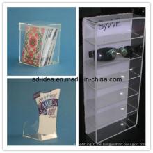 Transparente Acryl-Display, Acryl-Box, Acryl-Banner (AD-1461)