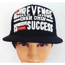 Sombrero de la impresión 3D Sombrero de la manera de la ciudad del casquillo de Hip-Hop