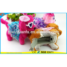 Charming Design Hot Selling High Quality Cute Plush Electric Puppies with Gauzy Dress