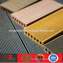 Fire-resistant WPC decking