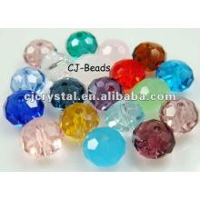 Artisanat en cristal de couleur, perles de verre yiwu