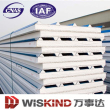 Insulated PU Foam Sandwich Panel for Wall