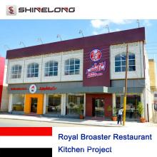 Proyecto de cocina Royal Broaster Restaurant