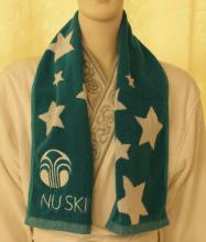 Żakardowy ręcznik Sport z farbowanej przędzy