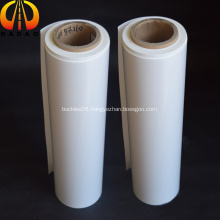 opaque white PET film for labels
