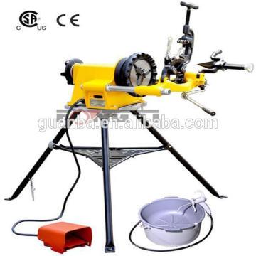Elektrische Rohr-Maschine Hongli 300 mit Fuß-Schalter und Öler 1500W