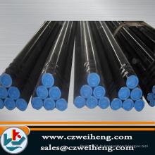 Tube en acier noir API 5L carbone sans soudure en acier
