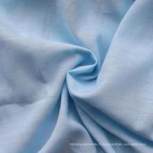 70% Coton 30% Tissu en lin Slub Tissu simple Coton / Linge