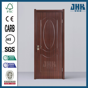 JHK Commercial PVC Wooden Bathroom Plastic House Doors