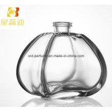 Botella de perfume cosmética modificada para requisitos particulares del diseño de la moda del precio de fábrica