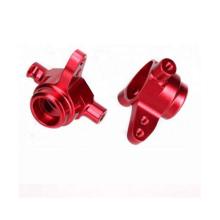 Professionelle kundenspezifische CNC-Bearbeitung von Aluminiumteilen, die Farbe eloxieren