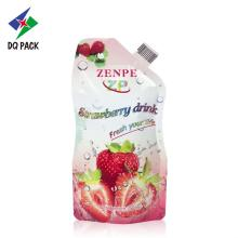 Colorful Custom Printed Stand Up Pouch For Juice
