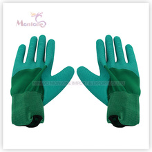 13gauge Half Latex Coating/Dipped Polyester Working Garden Safety Work Gloves