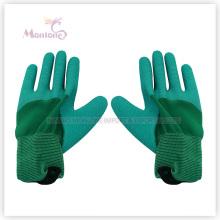 13gauge половина Латексным покрытием/полиэстер, смоченной работа сад перчатки безопасности труда
