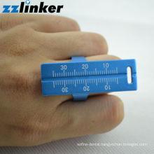 Finger ring endo ruler sliding/Endo Test board