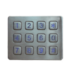 Good quality industrial 3x4 backlit keyboard-keypad