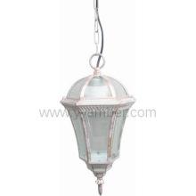 aluminium pendant lights glass diffuser with E27 lampholder