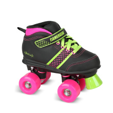 Soft Boot Quad Roller Skate for Kids (QS-35)