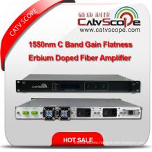Professional Supplier High Performance 1550nm C Band Gain Flatness Erbium Doped Fiber Amplifier EDFA