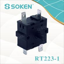 Interruptor Rotativo Soken 3 Posições