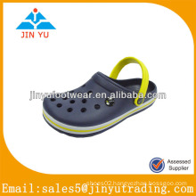 China dark blue eva gardening shoes for men
