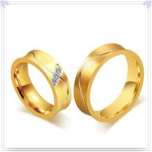 Accesorios de moda Anillo de dedo de acero inoxidable (SR603)