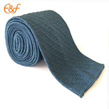 Men Classic Knitted Twill Tie Necktie Striped Skinny Ties