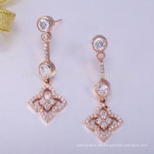 925 Sterling Silber Ohrring zurück Emaille Ohrring