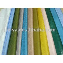 Tela africana de la tela de Bazin de la calidad de Alemania del brocado de la tela