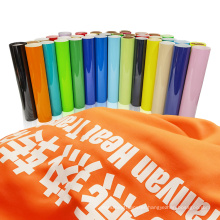 Korea quality clear vinil rolls Flex pu htv textil film heat transfer vinyl bundle for T shirt