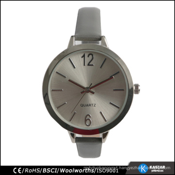 lady simple watches stainless steel back watch original japan movement and battery