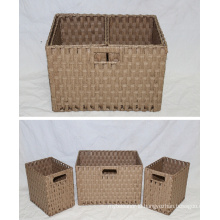 (BC-RB1018) Hot-Sell Durable Handmade Paper Rope Basket