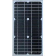 Panneau solaire Mono de 15W pour le système à la maison