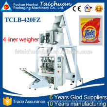 automatic multi head weigher packing machine for detergent powder