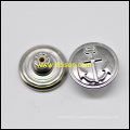 Brass Jeans Button with Vessel Parttern