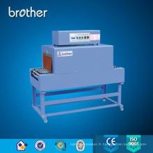Machine d'emballage de rétrécissement d'enveloppe de tube de tunnel de chaleur de petite bouteille
