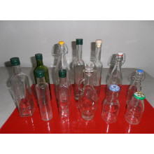 Different Capacity Glass Oil Bottles