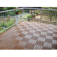 DIY Decking Tile Wood Plastic Composite with CE, Fsg SGS, Certificate