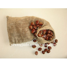 Chinese fresh chestnut packed in 10kg gunny bag