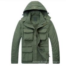 OEM hochwertige kundenspezifische Windbreaker-Jacke für Herren