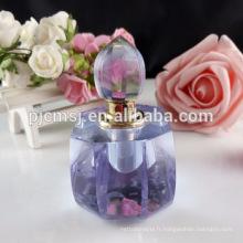 Bouteille de parfum en verre de bouteille en verre de vente en cristal de vente d'usine 100ml