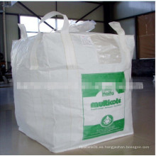 Bolsas FIBC para el embalaje de betún, resistencia a la temperatura