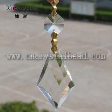 DX43 Cristal lámpara transparente gota