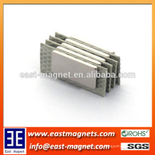 Rare Earth 35sh Block NdFeB Permanent Magnet für Auto / benutzerdefinierte High Grade ndfeb Magnet