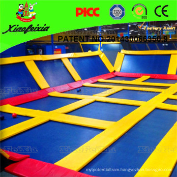 Square Type Cheap Gymnastics Jumping Trampoline Equipment for Sale
