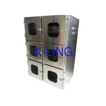 Portable Two Floor Cleanroom Pass Box With Mechanical Inter