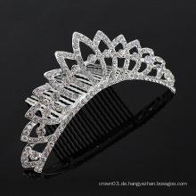 Kristallhaar-Zusätze Haar-Kämme Tiara-Kamm