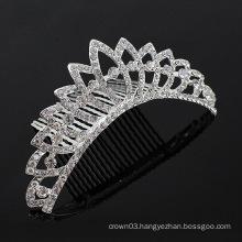 Crystal Hair Accessories Hair Combs Tiara Comb