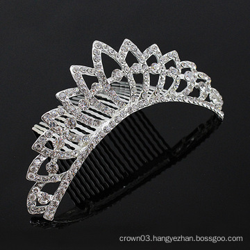 Crystal Hair Accessories Hair Combs Tiara Comb